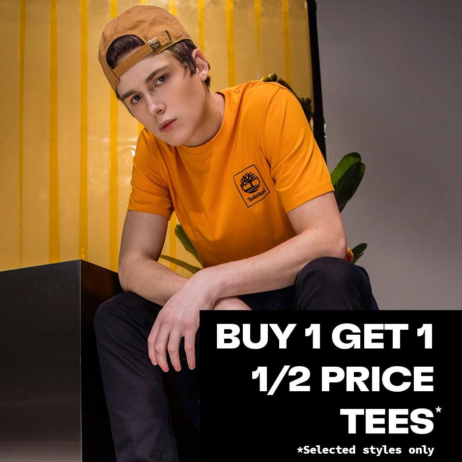 Buy 1 get 1 Half Price Tees