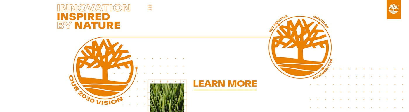 We are Earthkeepers: Discover the Timberland Sustainability Program.